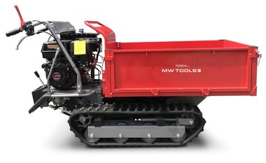 Mini tracked dumper 500kg rectangular 6F+2R