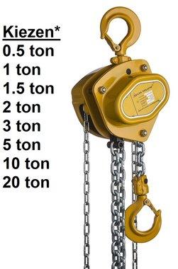 Hand chain hoist 0.5t to 20t