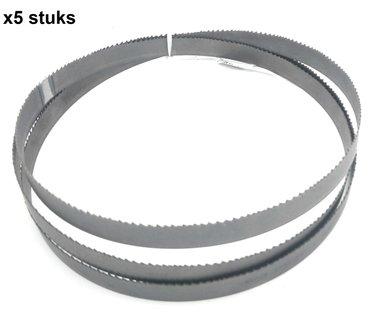 Band saw blades matrix bimetal -13x0.65-1638mm, Tpi 6-10 x5 pieces