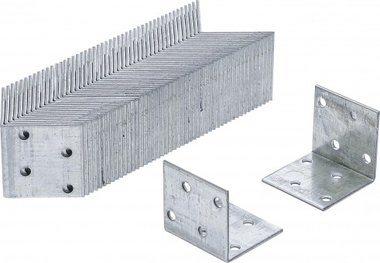 Angle Joint Value Pack (50 pcs.), 40x40x40x2 mm, galvanized