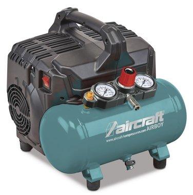 Low noise compressor 8 bar 6l 54l/min