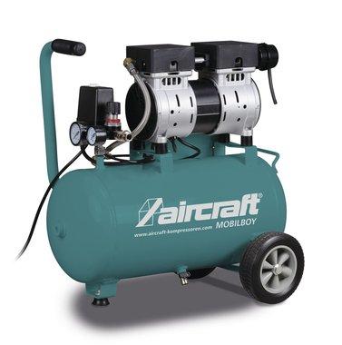 Mobile low noise compressor 8 bar 24l 60l/min