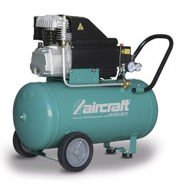 Mobile compressor 10 bar 50l 141l/min