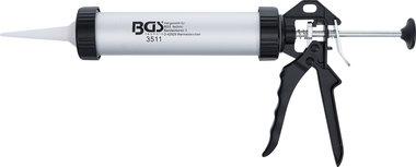 Aluminium Caulking Gun, for Cartridges 220 mm