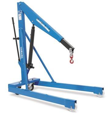Garage crane 1 ton with pump