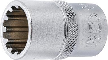 Socket, Gear Lock, deep 12.5 mm (1/2) drive 16 mm