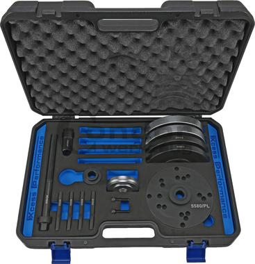 Wheel Bearing Tool Set, diameter 82 mm, Ford / Land Rover / Volvo