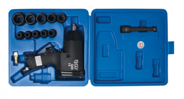 Air Impact Wrench Kit 12.5 mm (1/2) 366 Nm 16 pcs