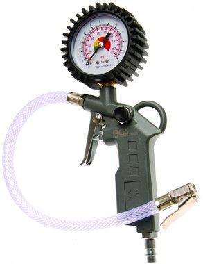 Pistol-Grip Air Inflator 0 - 8 bar