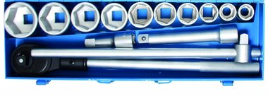 14-piece Socket Set, 3/4