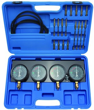 Synchronous Carburetor Tester with 4 synchronous clocks 26 pcs