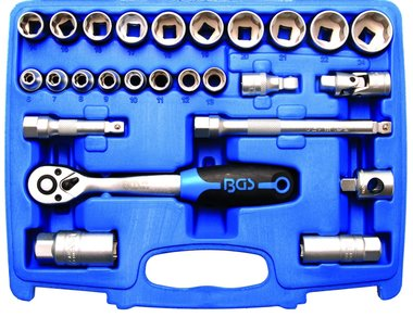Socket Set 10 mm (3/8) drive 26 pcs