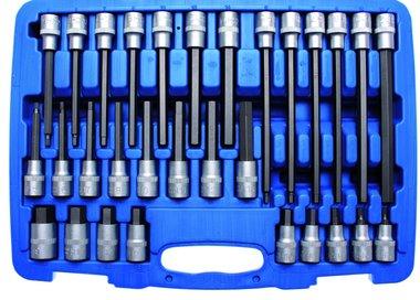 30-piece 1/2 Drive Internal Hexagon Bit-Assortment