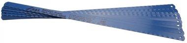10 Hacksaw Blades 13 mm wide, 300 mm long, flexible HSS