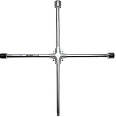 Four-Way Wheel Wrench for Trucks, 24x27x32x3/4 4pt. Head