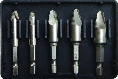 5-piece Screw Extractor Set