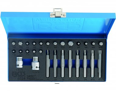 28-piece Screwdriver Combination Bit Set