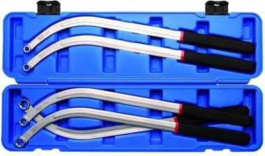 V-Belt and Timing Belt Wrench Set, E10 - E18