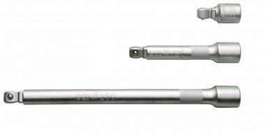 1/2 Wobble Extension Bar Set, 50-125-250 mm