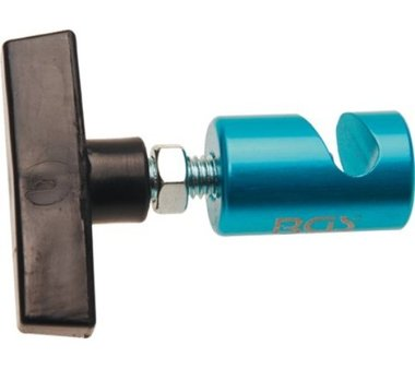 Locking Clamp for Hood and Trunk Openers