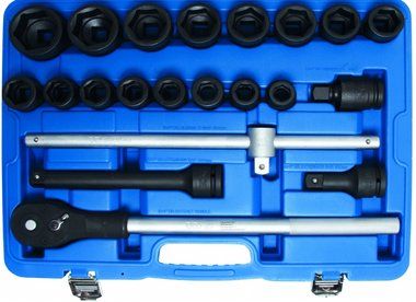 21-piece Impact Socket Set, 3/4