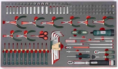 Socket & Pliers set 125pc