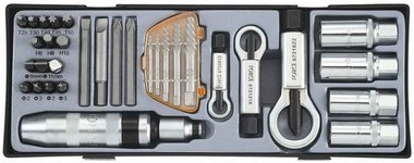 Screw repair tools set 33pc