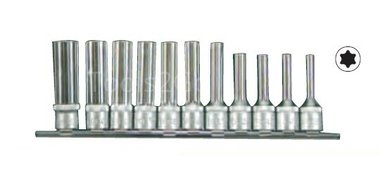 3/8 Star deep socket set 11pc