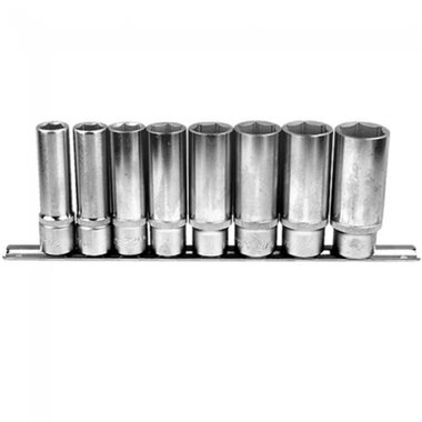 1/2 6-point Deep socket set 8pc