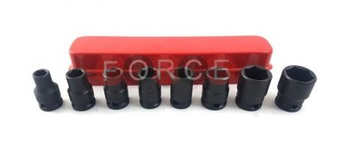 3/8 Impact socket set 8pc