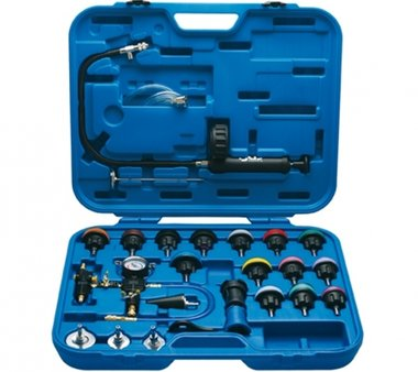 28-piece Radiator Pressure and Cooling System Tester