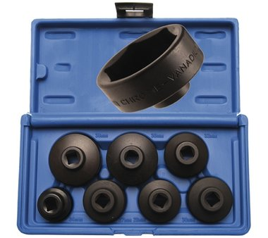 7-piece Low Profile Oil Filter Wrench Set
