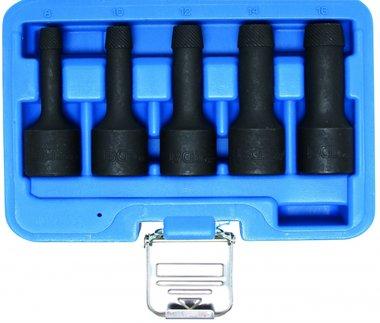 5-piece Special Twist Socket Set, 8-16 mm, 1/2