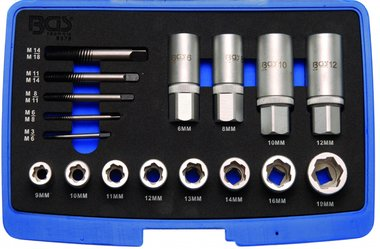 17-piece Screw and Stud Extractor Set