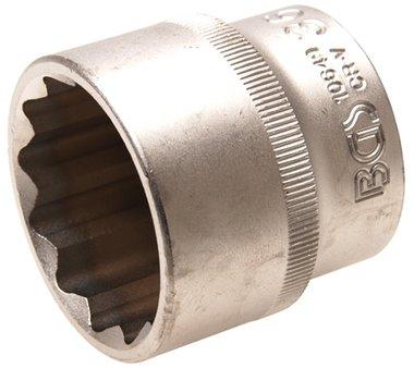 Socket, 12-point | 12.5 mm (1/2) drive | 36 mm