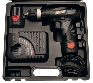 10.8 V Cordless Drill, with 2 Li-Ion batteries