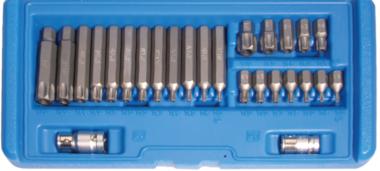 Bit Set   10 mm (3/8) drive   T-Star tamperproof (for Torx)   26 pcs.
