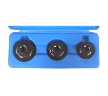 3-piece End Cap Oil Filter Wrenches