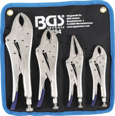Locking Pliers Set 4 pcs
