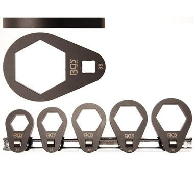 5-piece Oil Filter Wrench Set