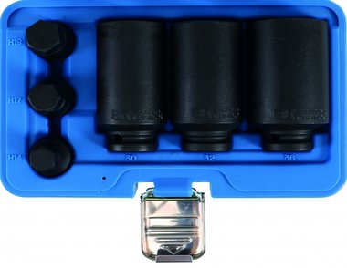 6-piece Drive Shaft Socket Set