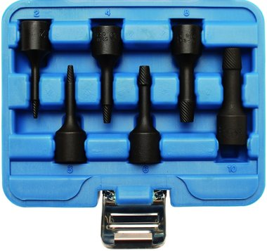 6-piece Special Twist Socket Set, 2-10 mm, 3/8