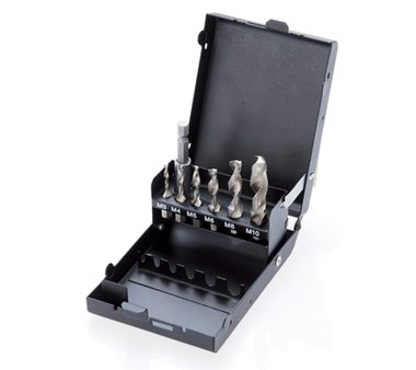 HSS G Drill / Tap and Die Set 7 pcs