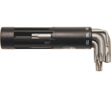 L-Type Key Set   T-Star tamperproof (for Torx) T10 - T50