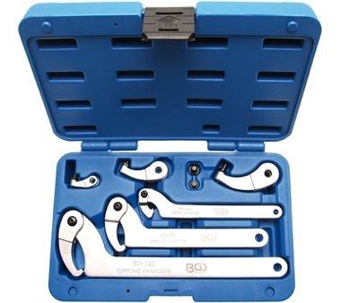 Hook Wrench Set | 35 - 120 mm | 8 pcs.