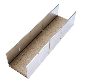 Aluminium Miter Box 245 x 65 x 55 mm