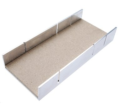 Aluminium Miter Box 245 x 106 x 44 mm