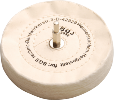 Polishing Disc with Mandrel 6 mm