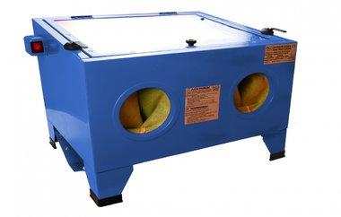 Air Sandblasting Cabinet, illuminated
