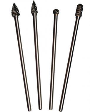 HSS Milling Cutter Set, extra long | 4 pcs.